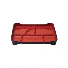 Bento Tray with Red Inner