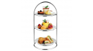 Ring 3 Tiers High Tea Stand, ATHENA, ø230×408(H)mm