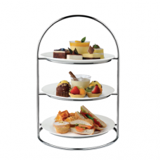 Ring 3 Tiers High Tea Stand, ATHENA, ø306×453(H)mm