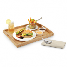 Lexi Wooden Tray, ATHENA, 460×360×58(H)mm