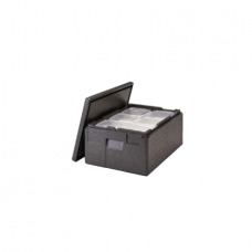 Cambro, Disposable Sealed Dishes and Gelato Pans, Black, 20,5 cm