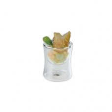 Luna Double Wall Gourmet Glass, ATHENA, 0.04L