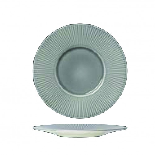 Gourmet Plate Medium well, WILLOW Glass, 28.5cm