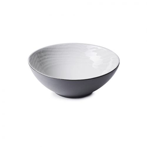 SWELL Coupe Plate, White Sand, Ø 15cm-H 5.6cm