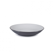 SWELL Coupe Plate, White Sand, Ø 27cm-H 5cm