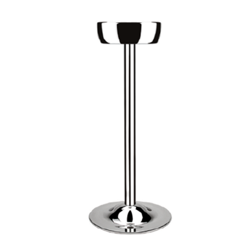 Stainless Steel Champagne Cooler Stand (Mirror Polish), 20.5 x 68.5cm